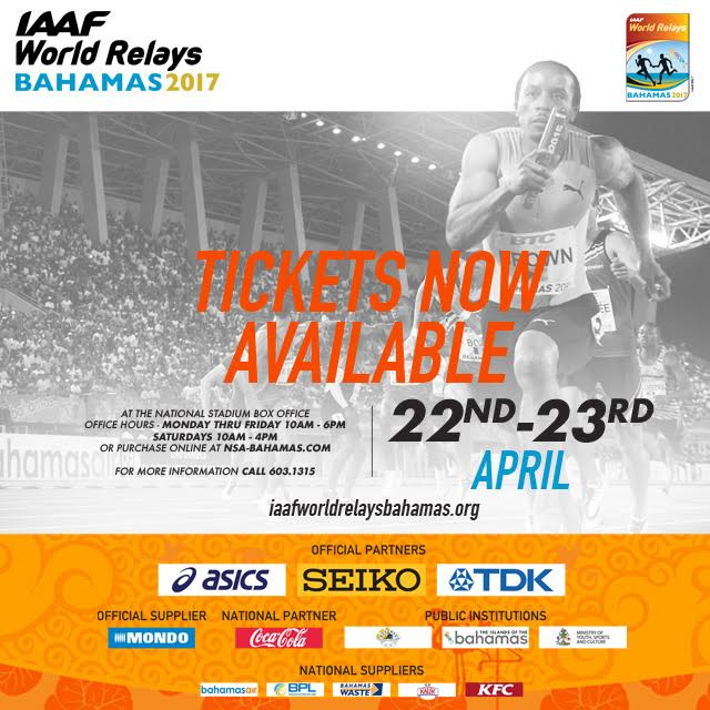 IAAF World Relays Bahamas 2017