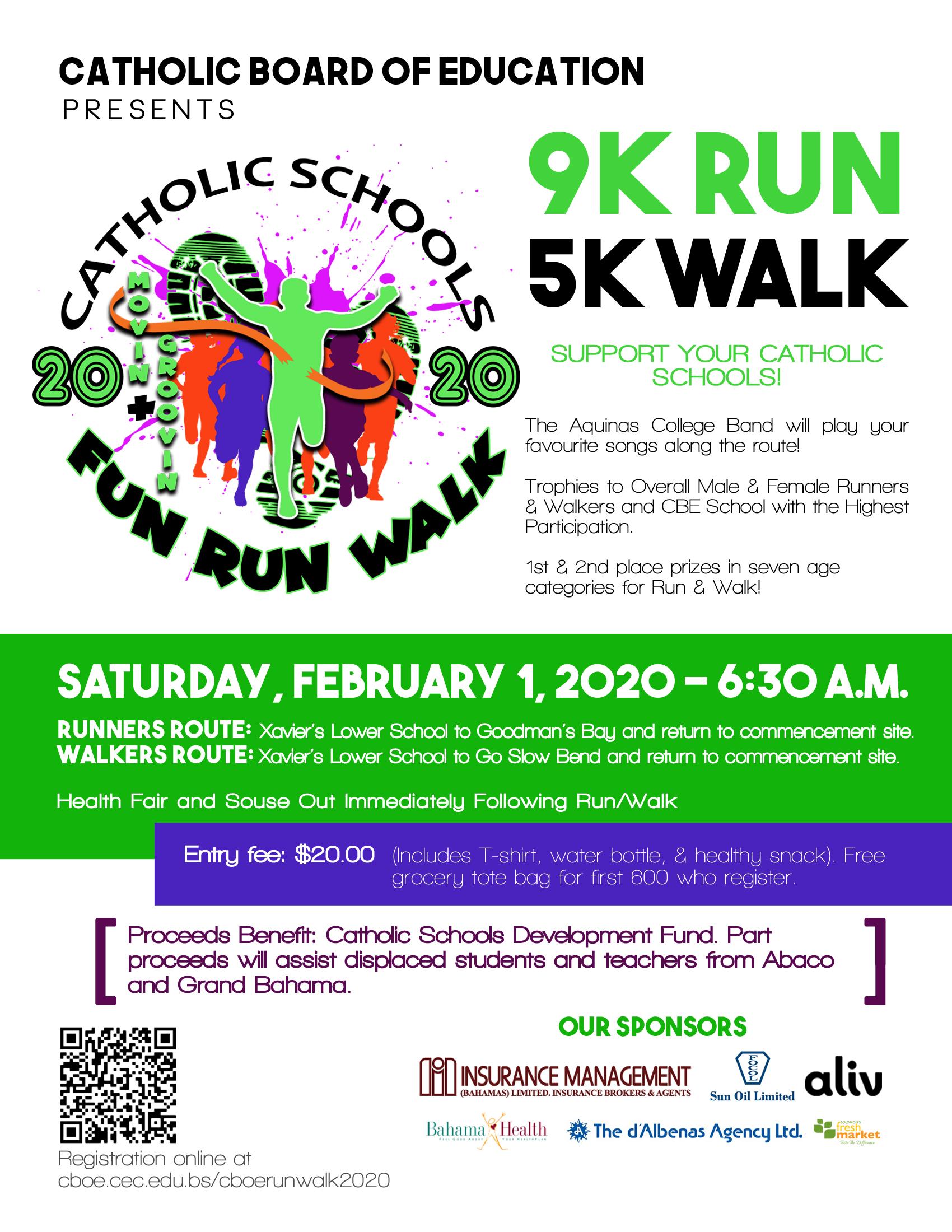 9K Run 5K Walk