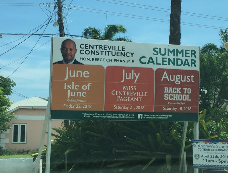 Centreville Constituency Summer Calendar