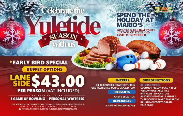 Celebrate The Yuletide With Us @ Marios Bowling and Entertainment Palace