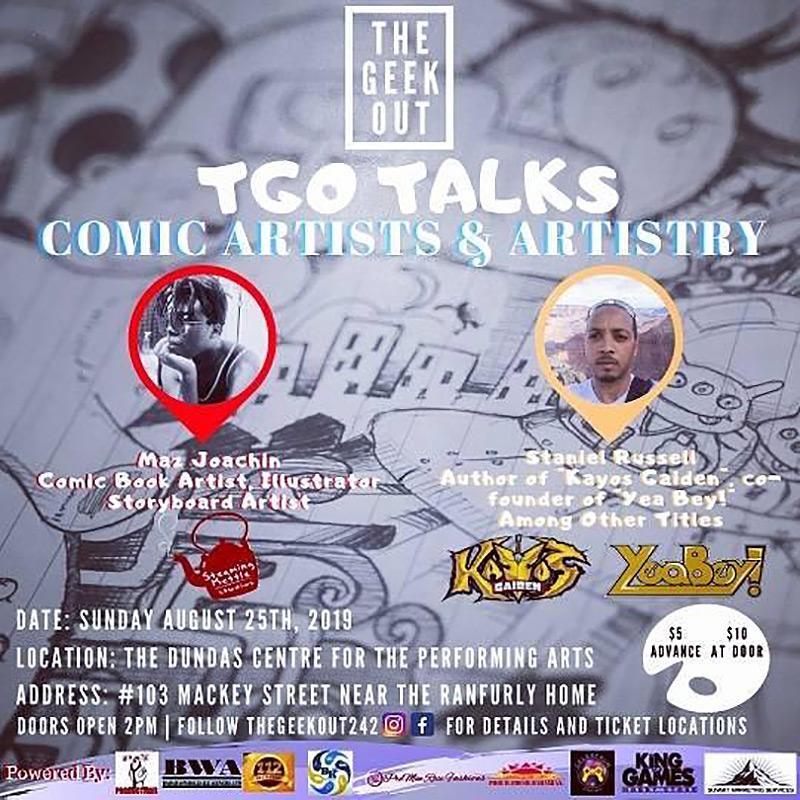 TGO Talks Comic Artists Ans Artistry