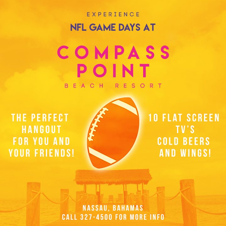 NFL Game Days at Compass Point