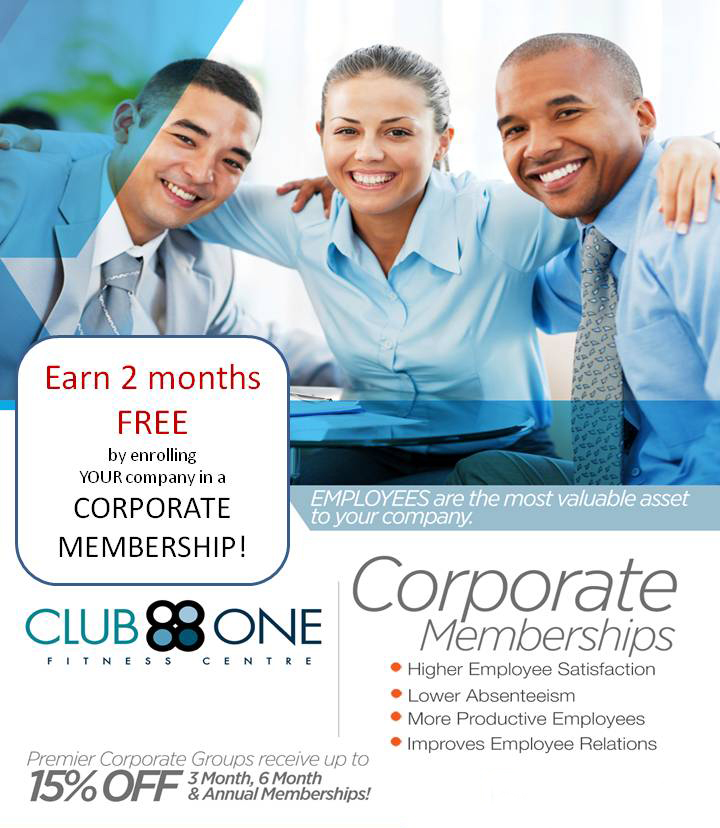Club One Corporate Memberships