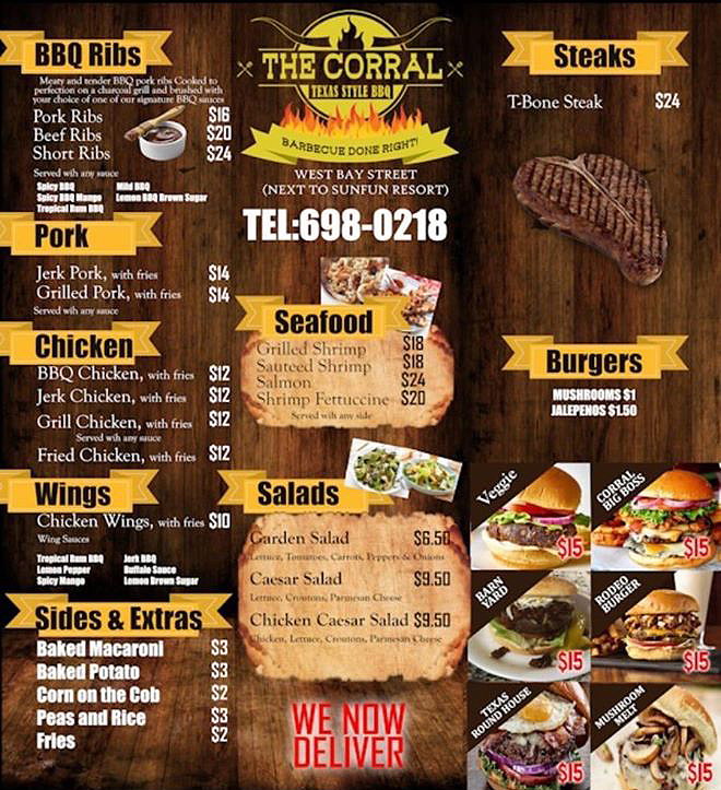 The Corral Texas Style Barbecue