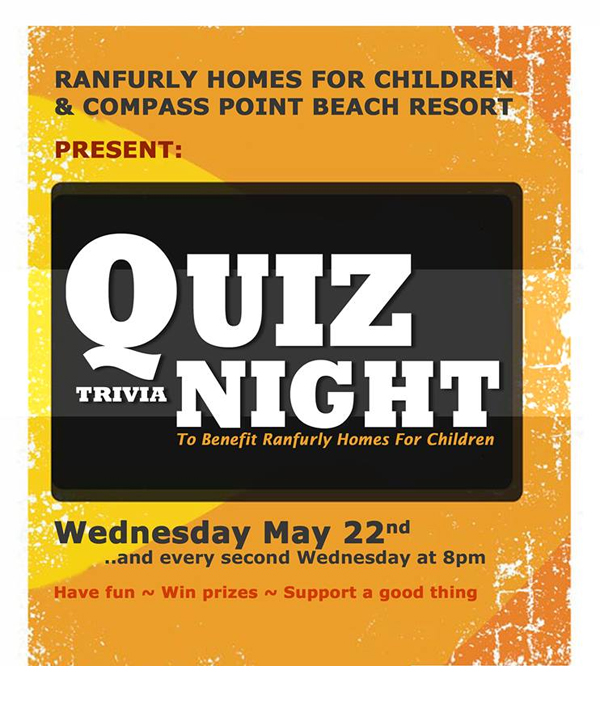 Quiz Night Trivia to Benefit Ranfurly Homes for Children