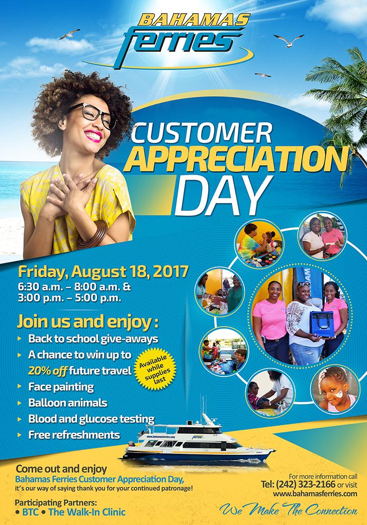 Bahamas Ferries Customer Appreciation Day!