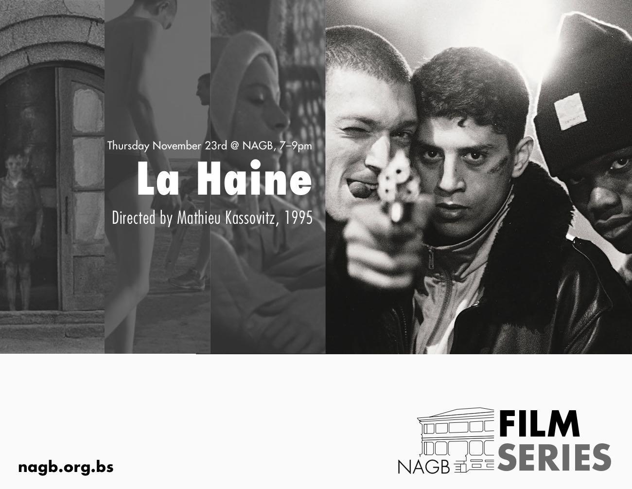 NAGB Film Series presents the award winning La Haine