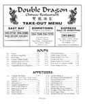 Double Dragon Menu