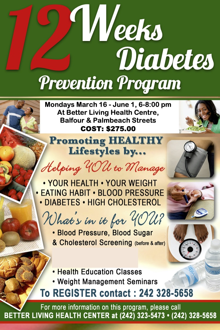 12 Weeks Diabetes Prevention Program