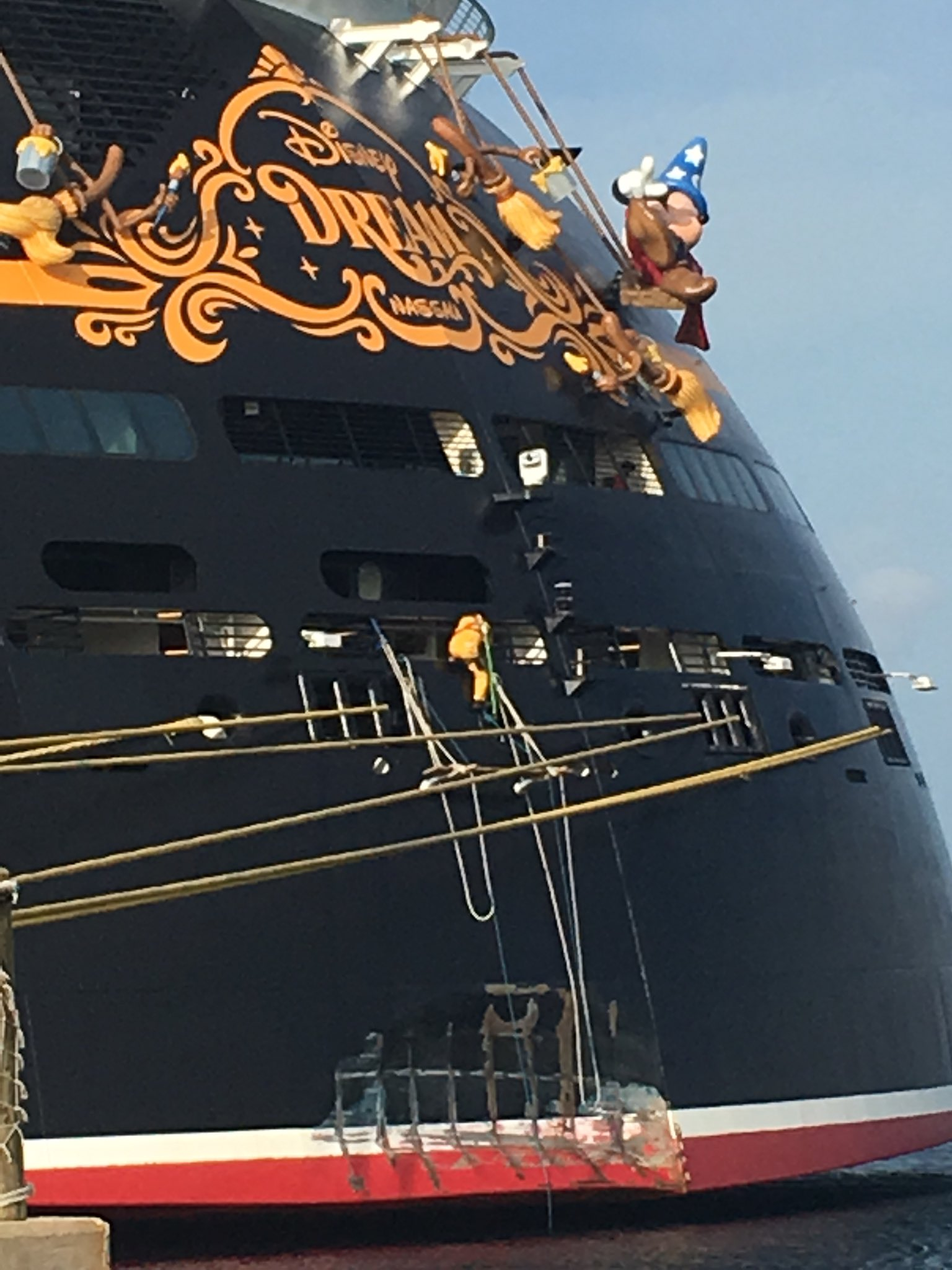 Disney Cruise Ship Crashes Into Dock In Nassau Nassau