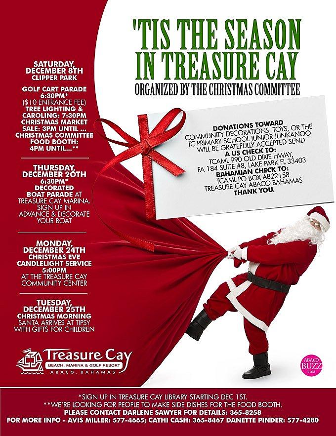 'Tis The Season In Treasure Cay
