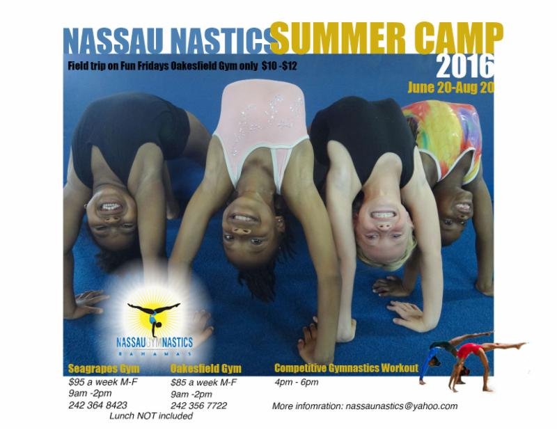 Nassau Nastics Summer Camp