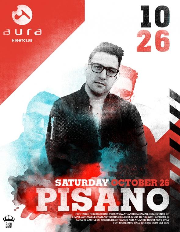 DJ Pisano at AURA