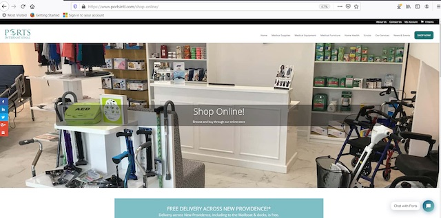 Ports International Launches Online Store Free Delivery And Curbside Service Nassau Paradise Island Bahamas Bahamas Local News Nassau Paradise Island Bahamas