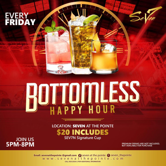 Bottomless Happy Hour