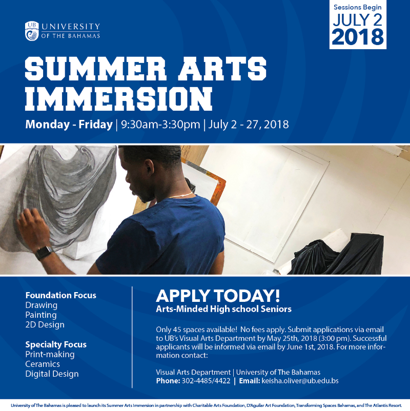 Summer Arts Immersion Presented by University of The Bahamas