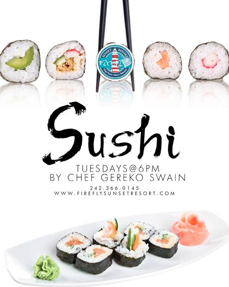 sushi night