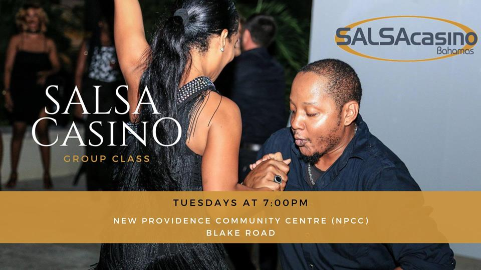 Salsa Casino Group Class Hosted by The Bahamas Social Dance Co-op and SALSA Casino Bahamas