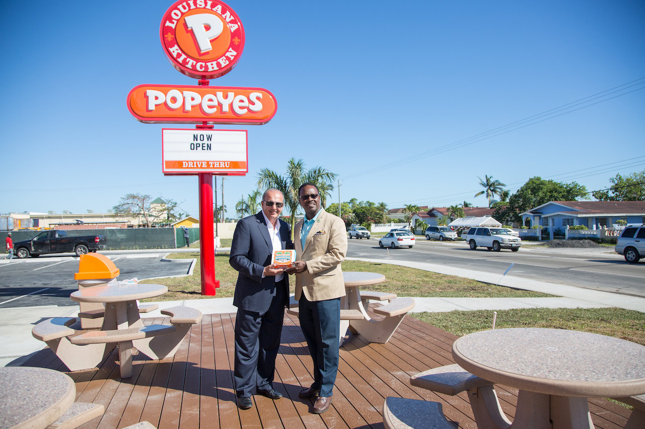 Popeyes Opens Second L... Cheryl Cole Slaw