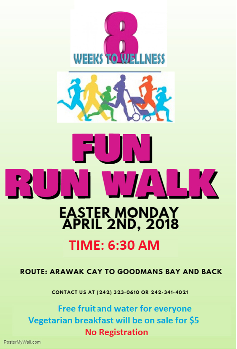 8 Weeks to Wellness Fun Run Walk