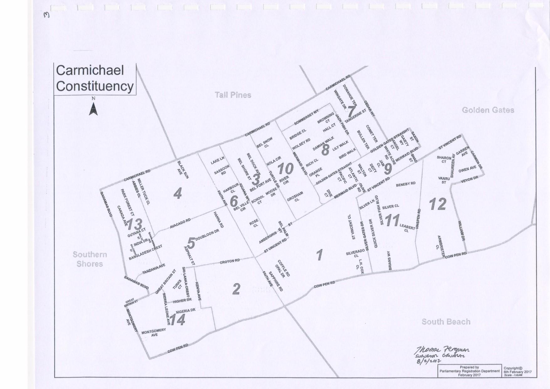 Carmichael Constituency 2017
