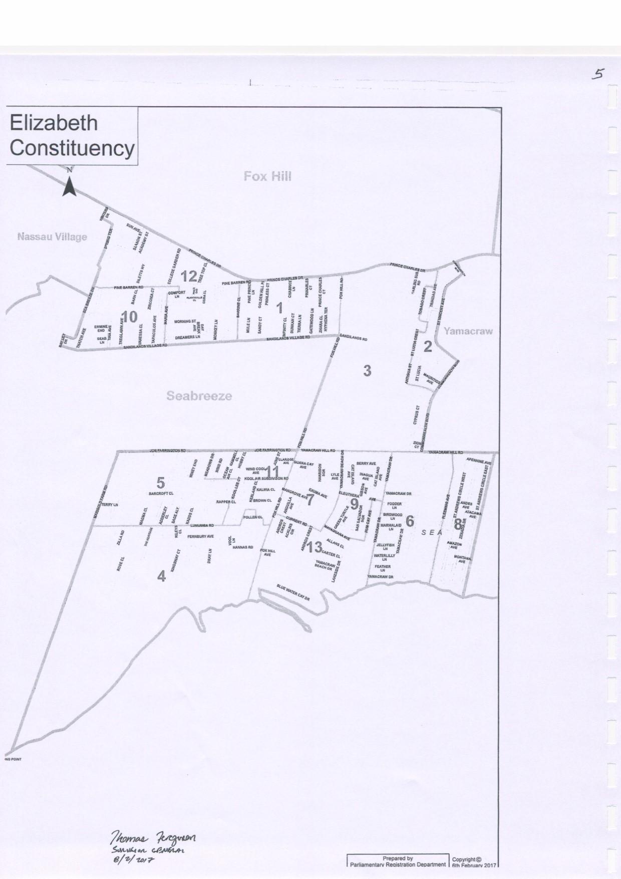 Elizabeth Constituency 2017