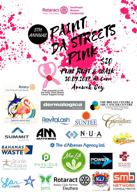 Paint Da Streets Pink | 5th Annual 5K