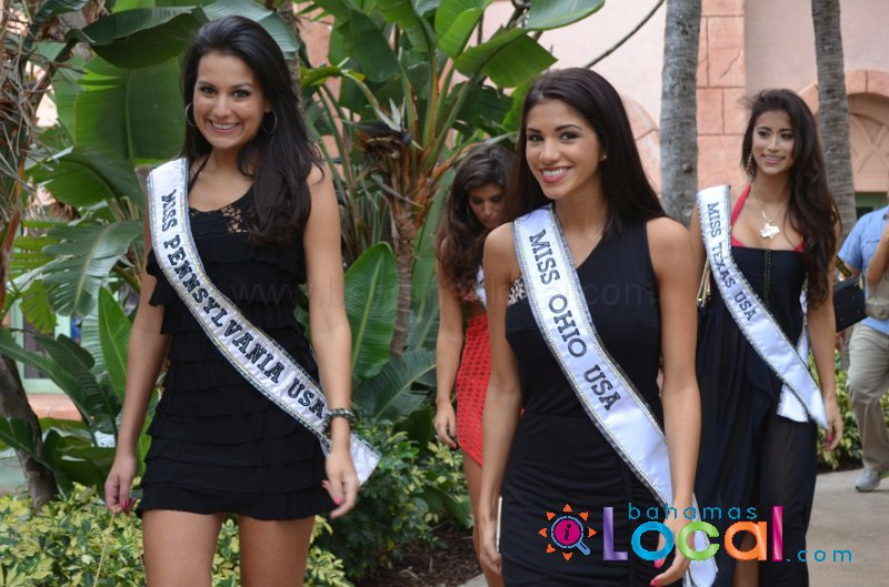 miss usa girls at battle 4 atlantis