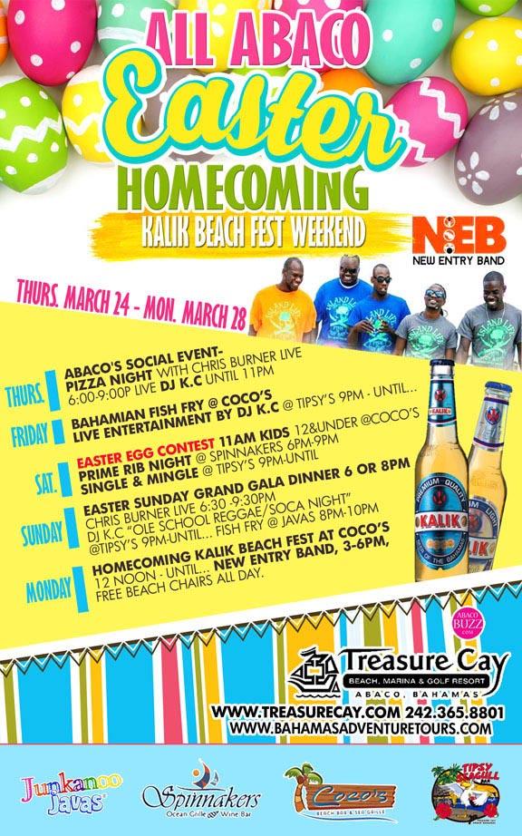 All Abaco Easter Homecoming & Kalik Beach Fest Weekend