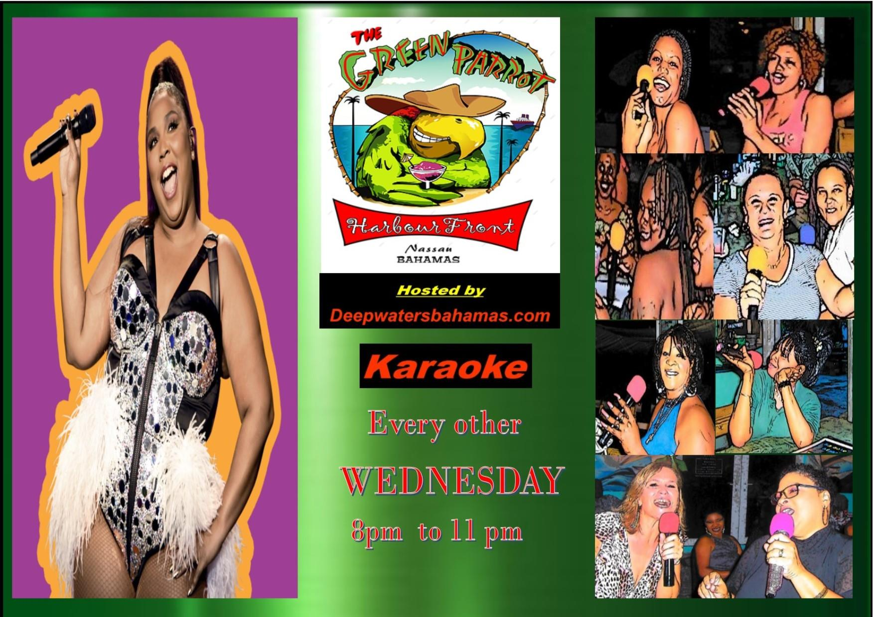 Green Parrot Harbour Front Wednesday Karaoke Night