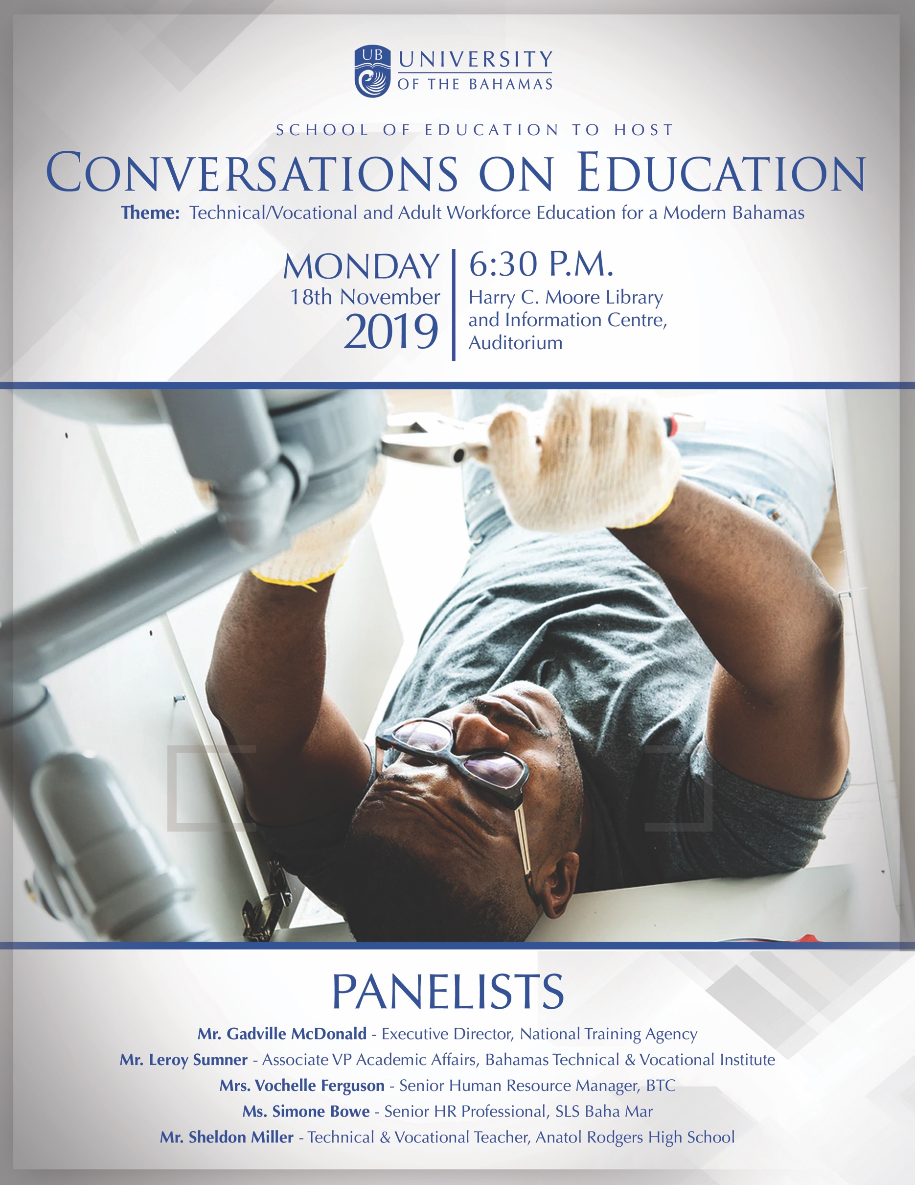 Conversations on Education at University of the Bahamas