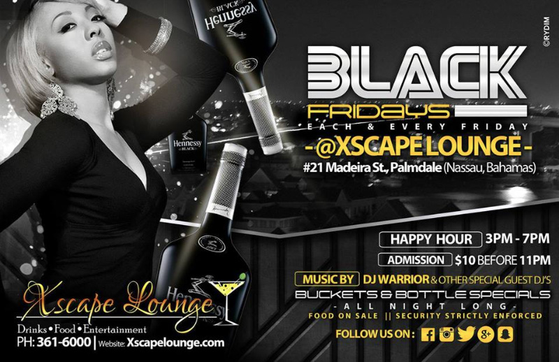 Black Fridays Presented by Xscape Lounge