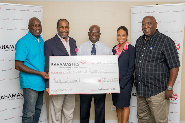 Bahamas First Sponsors Saxon Superstars Junkanoo Group