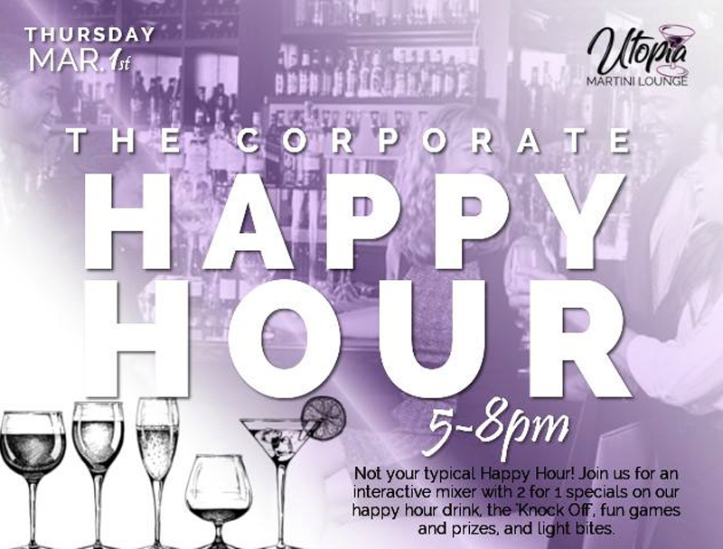 The Corporate Happy Hour Hosted by Unofficial: Utopia