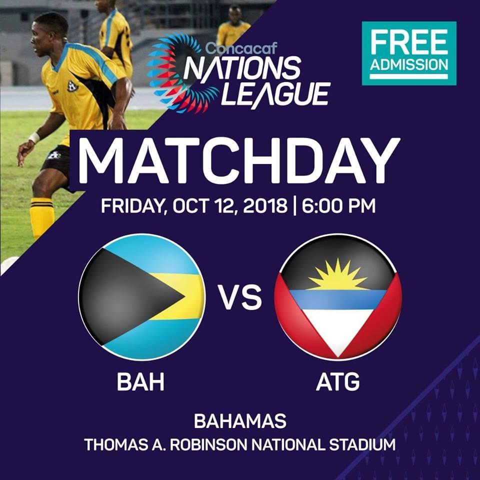 Match Day | Bahamas Vs. Antigua