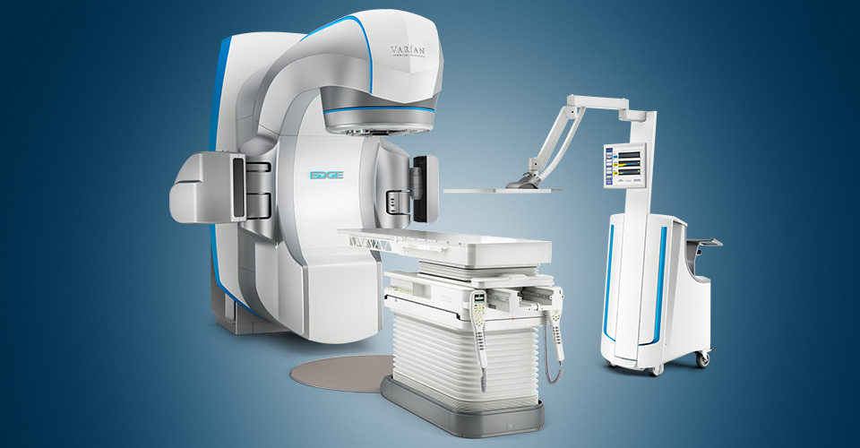 Cancer surgery without a knife - Non-invasive Varian EDGE cancer