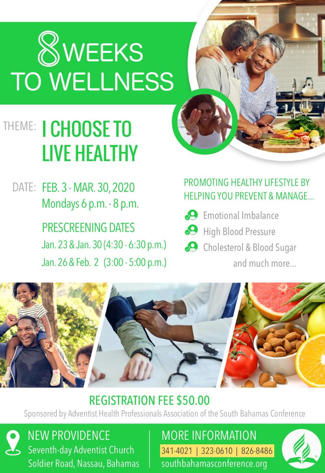 8 Weeks to Wellness 2020