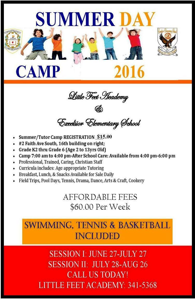 Little Feet Academy Summer Day Camp 2016