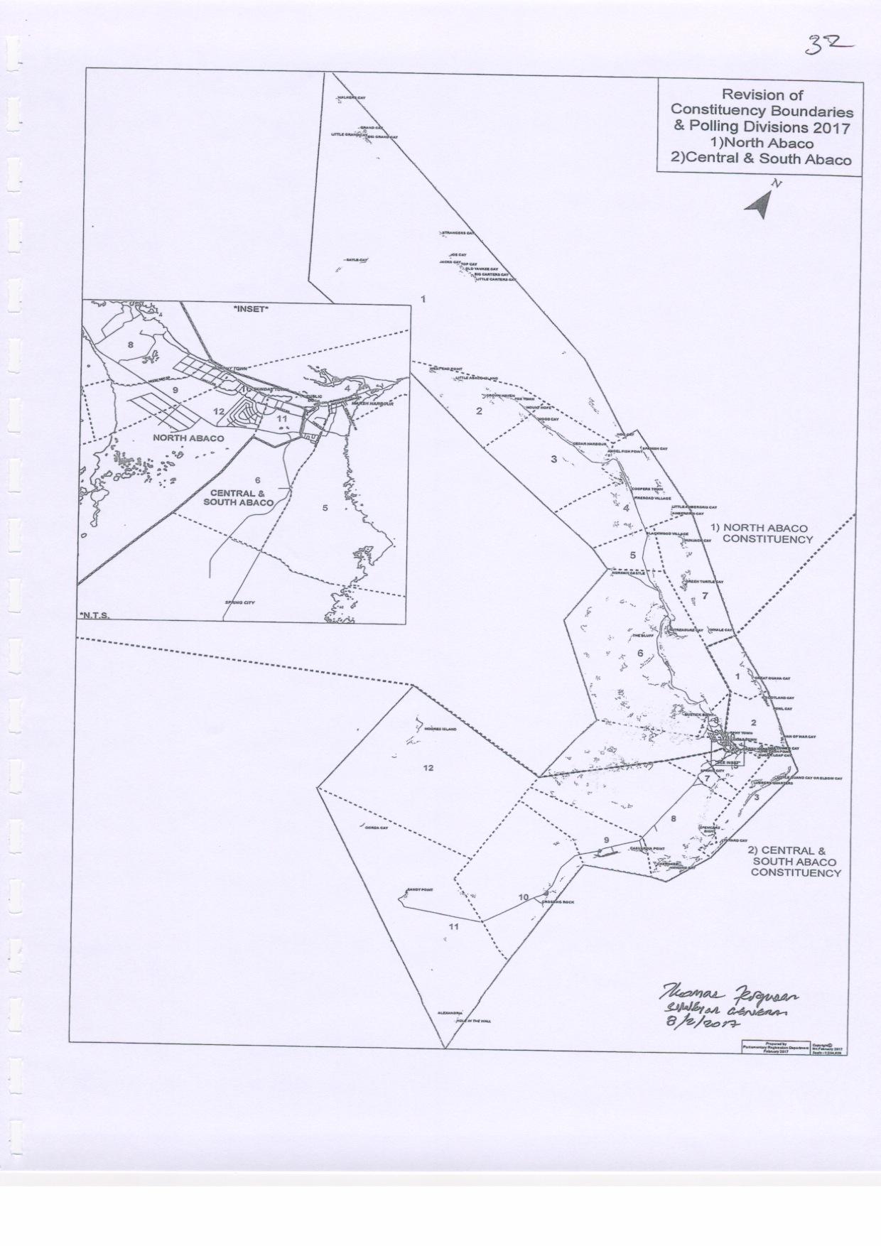 Abaco Constituencies 2017
