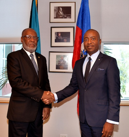 Haitian Ambassador pays courtesy call on Minister of Foreign