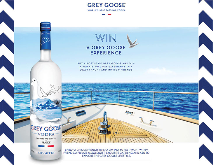 Win Grey Goose Experience