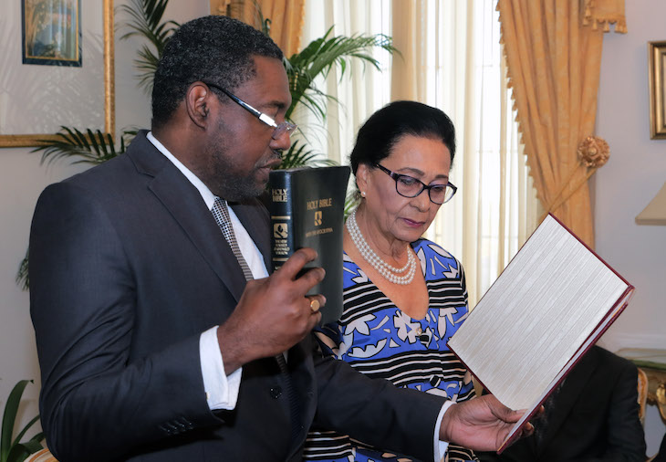 Mr.Andrew Forbes was Sworn In As Acting Justice of The Supreme Court