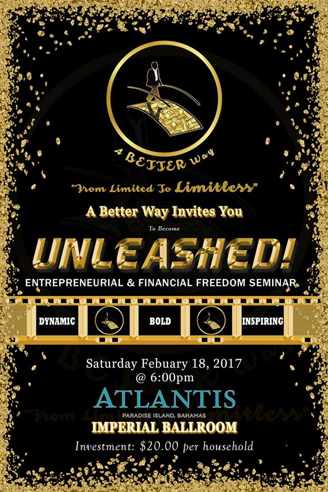 Unleashed | Entrepreneurial and Financial Freedom Seminar