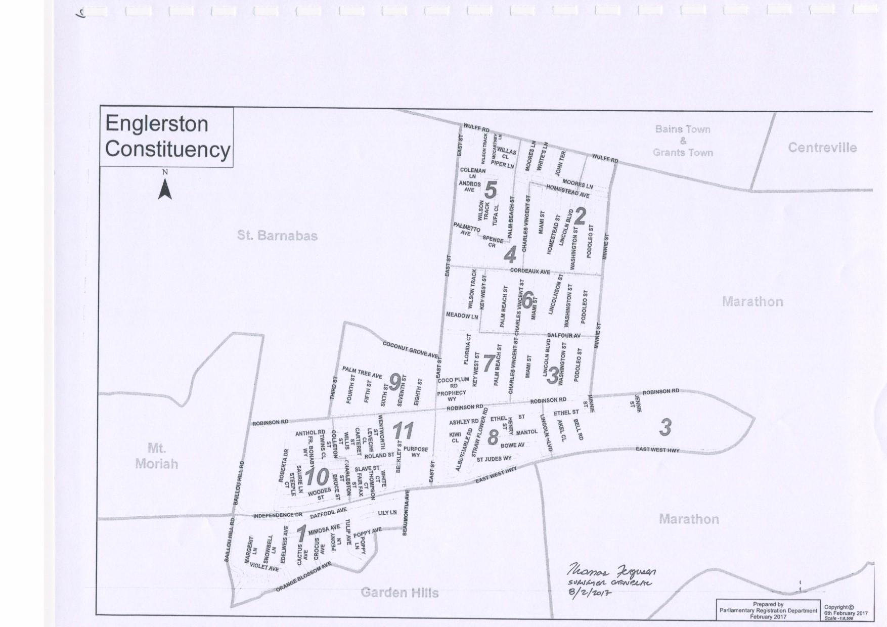 Englerston Constituency 2017