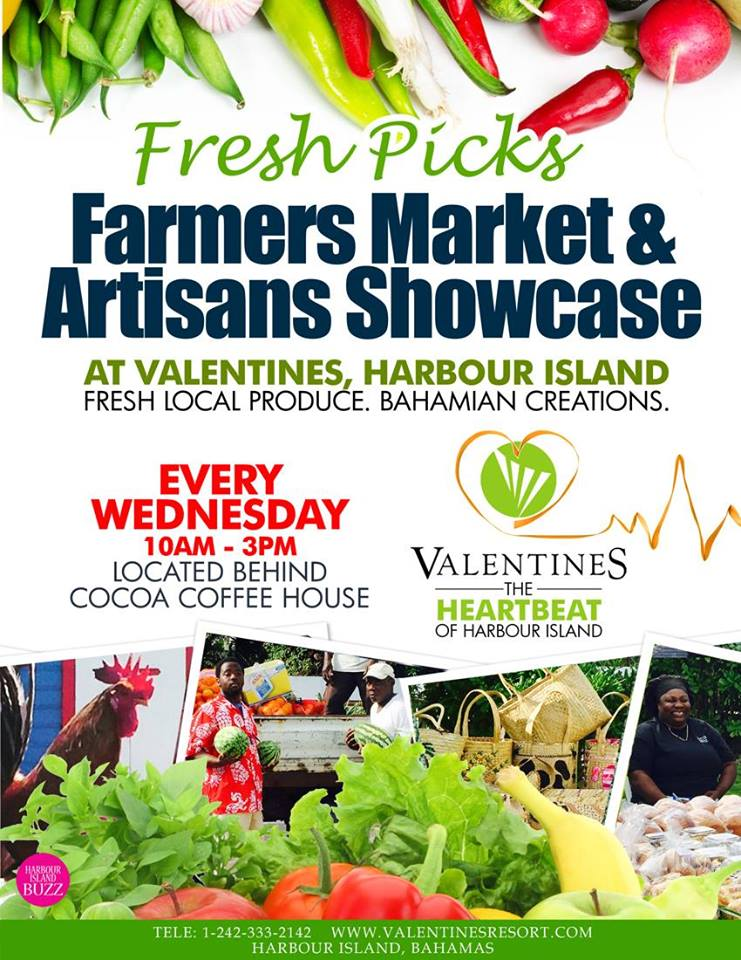 Farmers Market & Artisan Showcase Hosted by Valentine's Resort and Marina