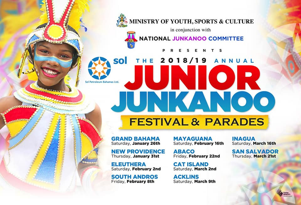 Junior Junkanoo Festival & Parades Presented by Ministry of Youth, Sports & Culture