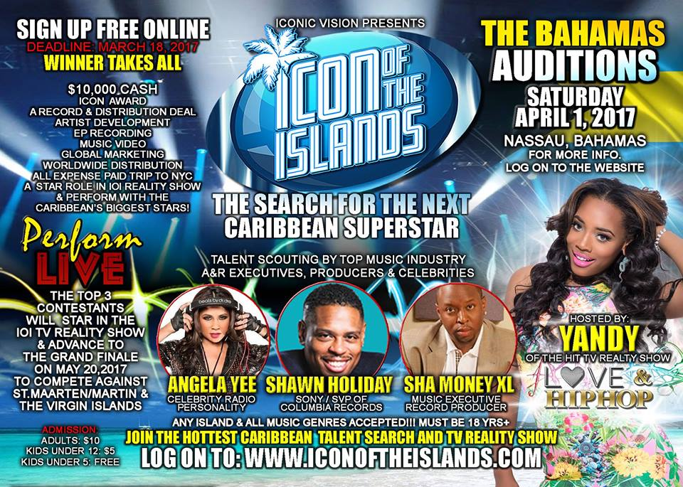 AUDITIONS | Icon of The Islands