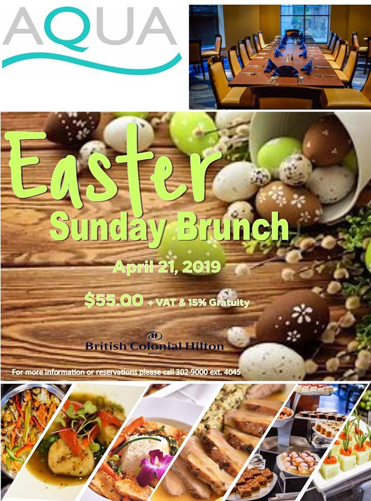 Easter Sunday Brunch at British Colonial Hilton Nassau