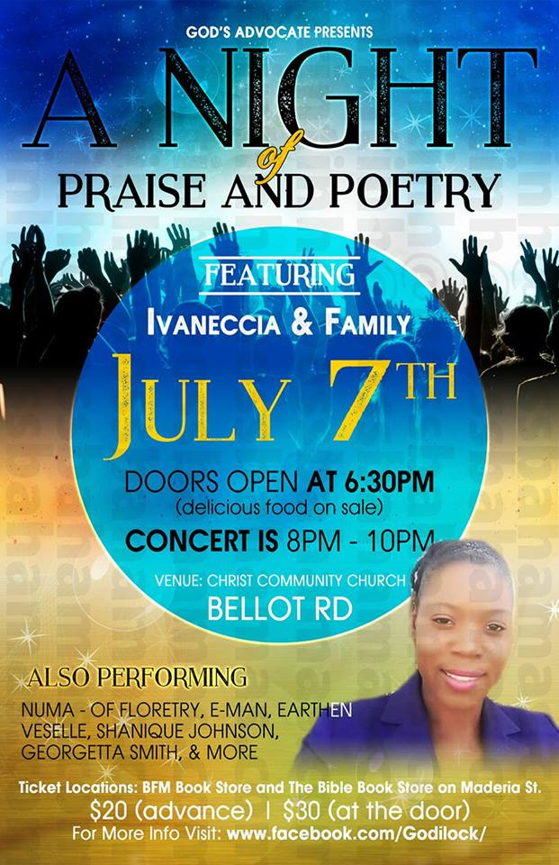 A Night of Praise and Poetry
