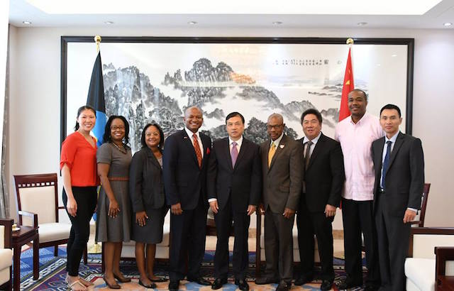 bahamas china relationship